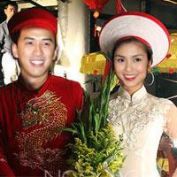 Hình ảnh đầu tiên đám cưới Hà Tăng