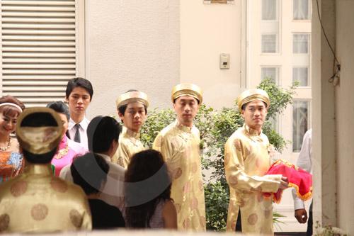 Hình ảnh đầu tiên đám cưới Hà Tăng - 7