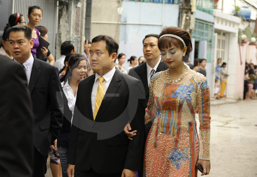 Hình ảnh đầu tiên đám cưới Hà Tăng - 16