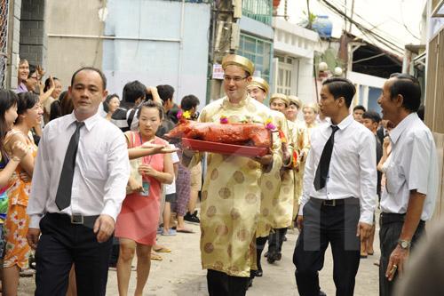 Hình ảnh đầu tiên đám cưới Hà Tăng - 4