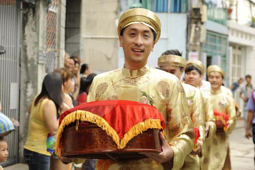 Hình ảnh đầu tiên đám cưới Hà Tăng - 5