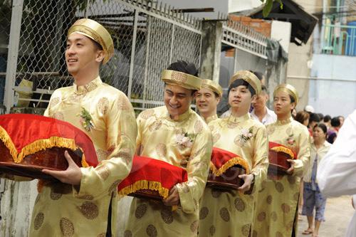 Hình ảnh đầu tiên đám cưới Hà Tăng - 6