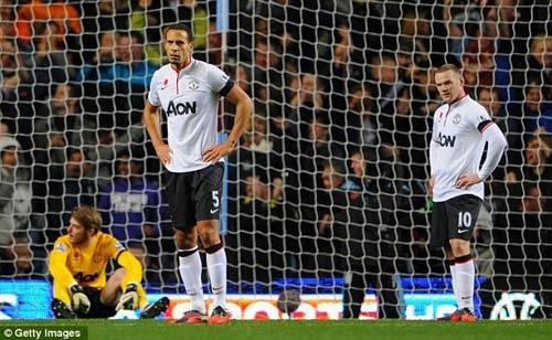MU và tuyển Anh cùng mất Rooney - 1