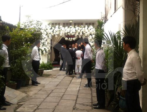 Hình ảnh đầu tiên đám cưới Hà Tăng - 10