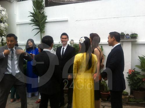 Hình ảnh đầu tiên đám cưới Hà Tăng - 11