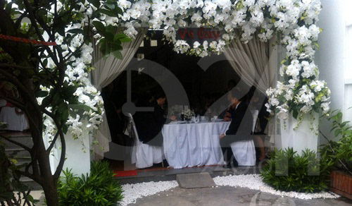 Hình ảnh đầu tiên đám cưới Hà Tăng - 13