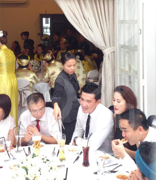 Hình ảnh đầu tiên đám cưới Hà Tăng - 1