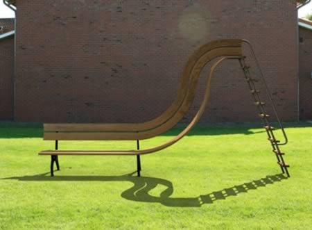 12 chiếc ghế băng vừa lãng mạn vừa kỳ lạ - 2
