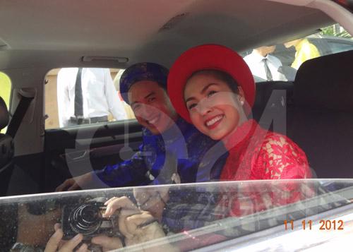 Toàn cảnh lễ rước cô dâu Hà Tăng - 6