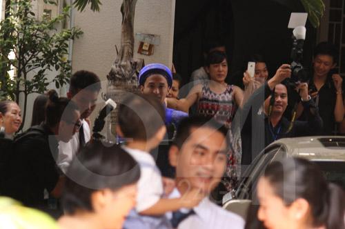 Toàn cảnh lễ rước cô dâu Hà Tăng - 12
