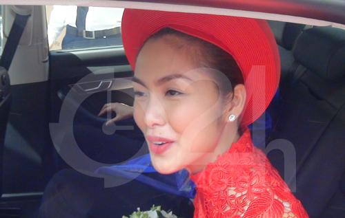 Toàn cảnh lễ rước cô dâu Hà Tăng - 9