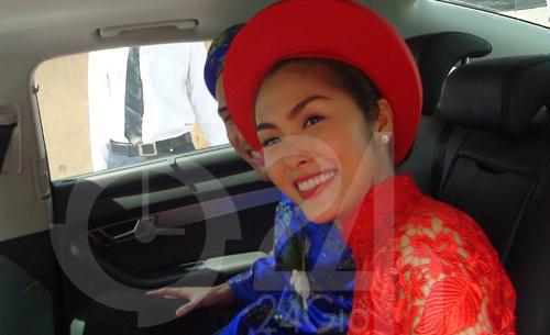 Toàn cảnh lễ rước cô dâu Hà Tăng - 10
