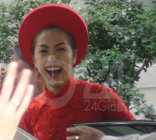 Toàn cảnh lễ rước cô dâu Hà Tăng - 8