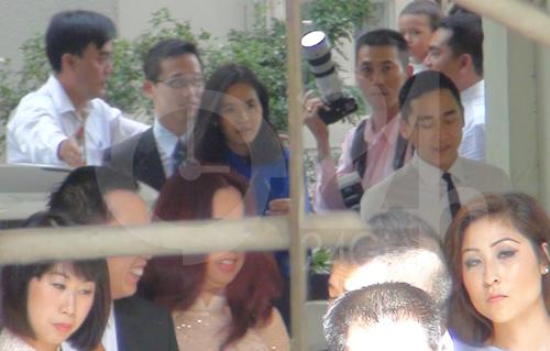 Toàn cảnh lễ rước cô dâu Hà Tăng - 17