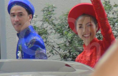 Toàn cảnh lễ rước cô dâu Hà Tăng - 11