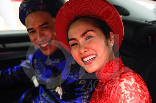 Toàn cảnh lễ rước cô dâu Hà Tăng - 7