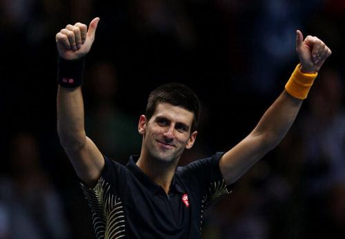 Djokovic - Del Potro: Phô diễn đẳng cấp (BK World Tour Finals) - 1