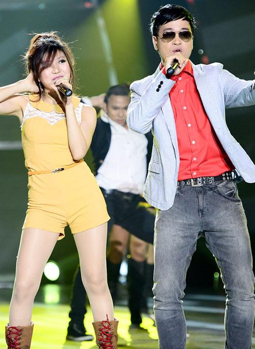 Đoan Trang mạo hiểm trên sân khấu - 19