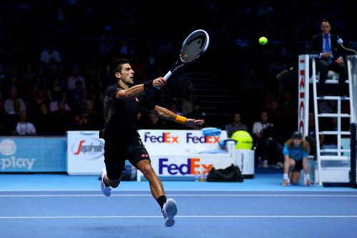 Djokovic và Federer cùng sánh bước - 1