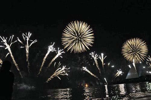 Chiêm ngưỡng màn pháo hoa lớn nhất thế giới - 1