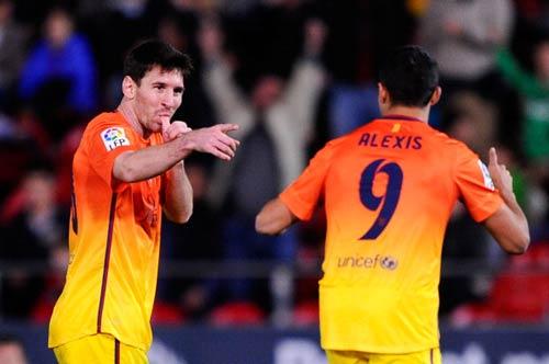 """Messi: Ông vua """"cú đúp"""" - 1"""