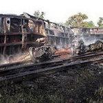 Tin tức trong ngày - Myanmar: Cháy tàu chở xăng, 25 người chết