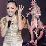 Ca nhạc - MTV - Đoan Trang mạo hiểm trên sân khấu