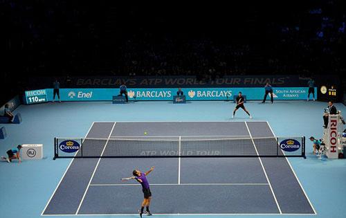 Djokovic - Federer: Siêu phẩm hành động (CK World Tour Finals 2012) - 1