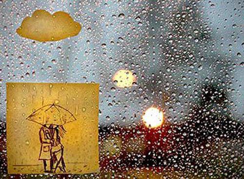 Thơ tình: Kỷ niệm chiều mưa - 1