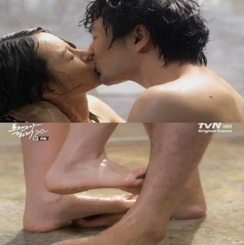 Cảnh hôn nóng rực màn ảnh Hàn - 9