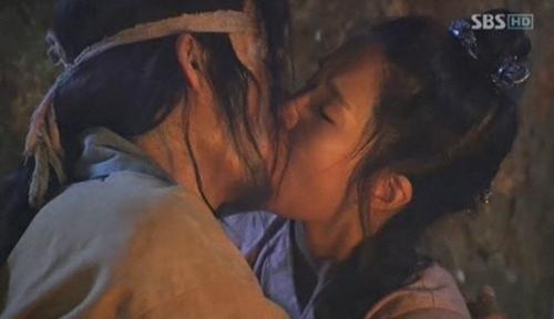 Cảnh hôn nóng rực màn ảnh Hàn - 10