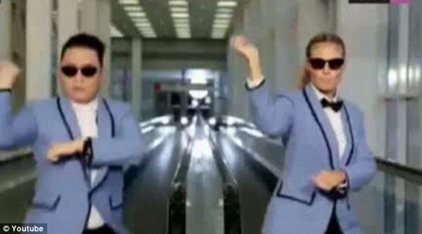 Siêu mẫu 4 con say mê nhảy gangnam style - 5