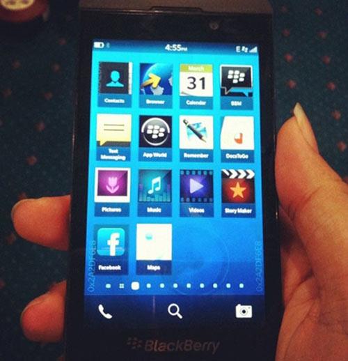 BlackBerry 10 ra mắt vào 30/1/2013 - 1