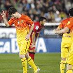 Bóng đá - Video: Villa không ăn mừng với Messi
