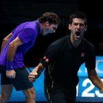 Pha bóng xuất thần của FedEx  & amp; Djokovic