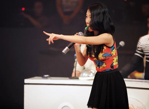 Thái Trinh tái hợp thí sinh The Voice - 7