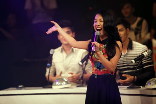 Thái Trinh tái hợp thí sinh The Voice - 6
