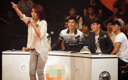 Thái Trinh tái hợp thí sinh The Voice - 9