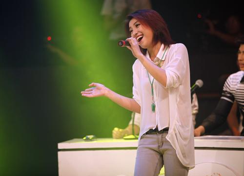 Thái Trinh tái hợp thí sinh The Voice - 8