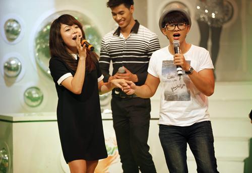Thái Trinh tái hợp thí sinh The Voice - 4
