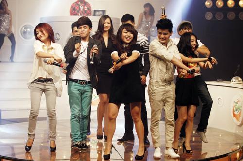 Thái Trinh tái hợp thí sinh The Voice - 5