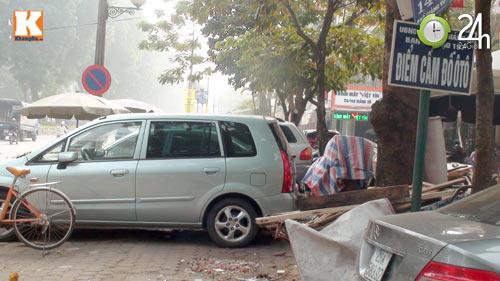 Hà Nội lại nở rộ bãi giữ xe tự phát - 7