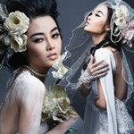 Thời trang - Julia Hồ e ấp như nụ hồng sau tà áo cưới