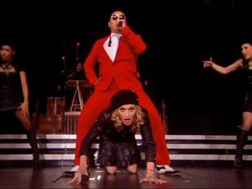 Madonna nhảy Gangnam Style với Psy - 1