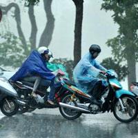 Nam Bộ: Áp thấp nhiệt đới gây mưa dông mạnh