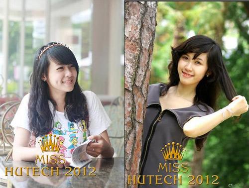 Sôi nổi cùng Miss Hutech 2012 - 1