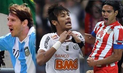 Messi-Neymar đọ tài bàn thắng đẹp nhất 2012 - 1