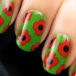 Làm đẹp - Rực rỡ kiểu nail hoa sắc màu