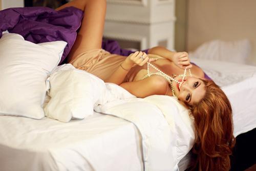 Andrea Aybar nóng bỏng trong phòng ngủ - 7
