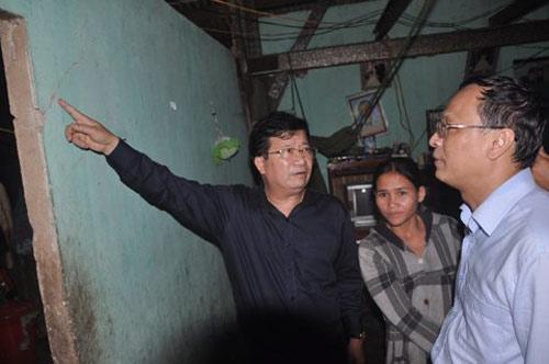 Xây nhà chống động đất cho dân - 1